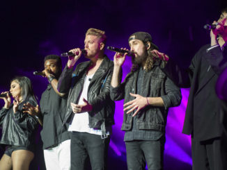 Pentatonix on stage at Ravinia